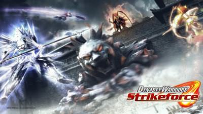 Dynasty Warriors: Strikeforce cover