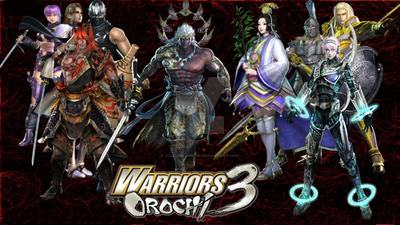 Warriors Orochi 3 cover