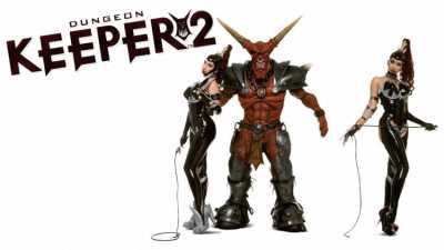 Dungeon Keeper 2 cover