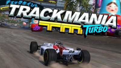 Trackmania Turbo cover