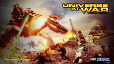 Universe at War: Earth Assault cover