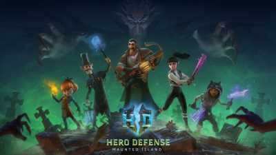 Hero Defense: Haunted Island cover