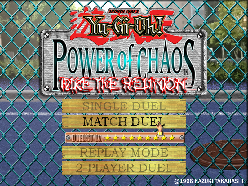 Yu Gi Oh! : Power Of Chaos Mike The Reunion (MOD)