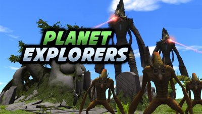 Planet Explorers cover