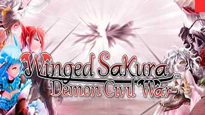 Winged Sakura: Demon Civil War cover