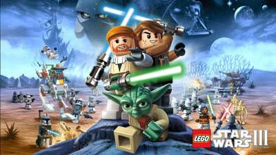 LEGO Star Wars 3 The Clone Wars cover