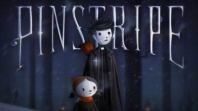 Pinstripe cover