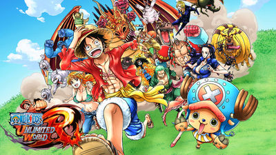 One Piece: Unlimited World Red - Deluxe Edition cover