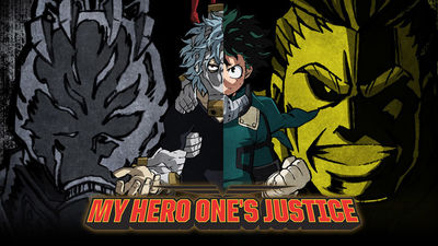 MY HERO ONE'S JUSTICE cover