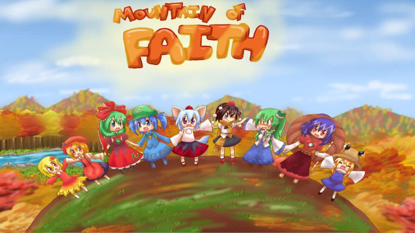 Touhou 10 - Mountain of Faith