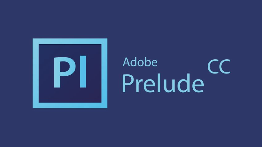 Adobe Prelude CC cover