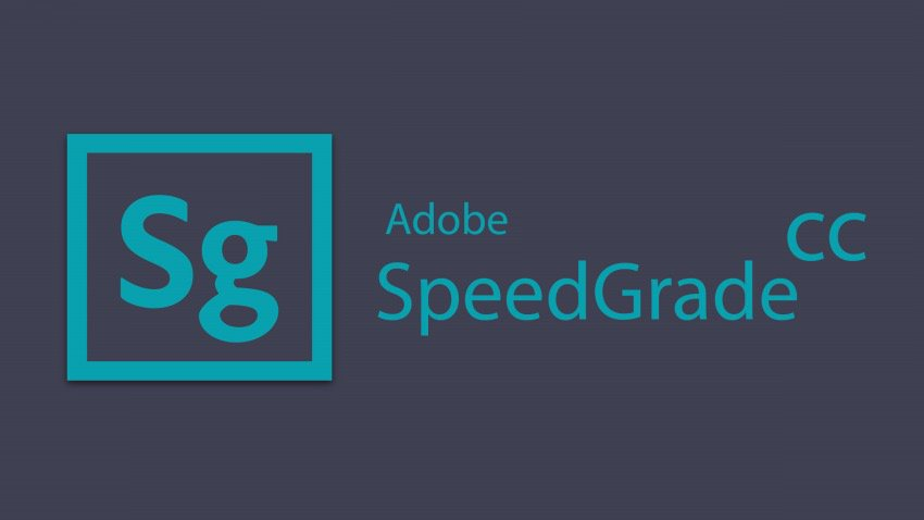 Adobe SpeedGrade CC cover