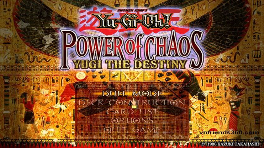 Yu Gi Oh! : Power Of Chaos Yugi The Destiny