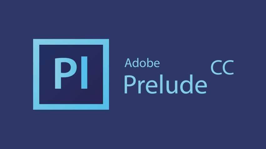 Adobe Prelude CC 2017 cover