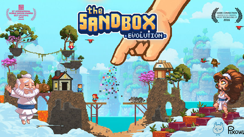 The Sandbox Evolution - Craft a 2D Pixel Universe!