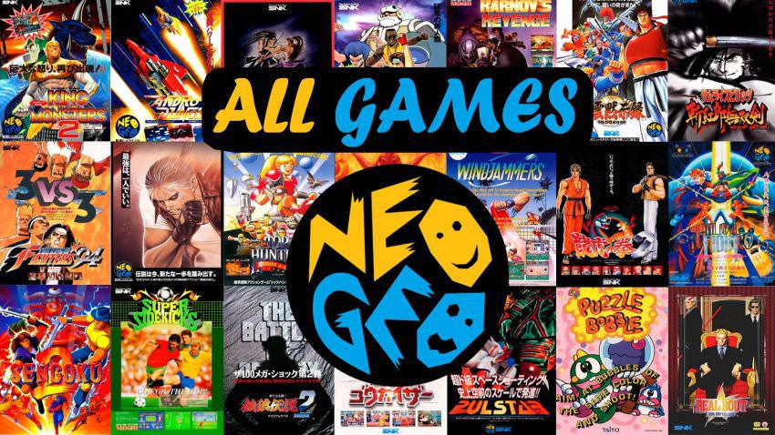 NEOGEO X Full Roms (181 Games)
