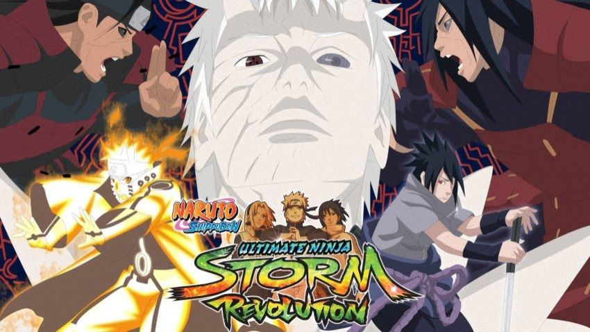 Naruto Shippuden Ultimate Ninja Storm Revolution Completed Edition